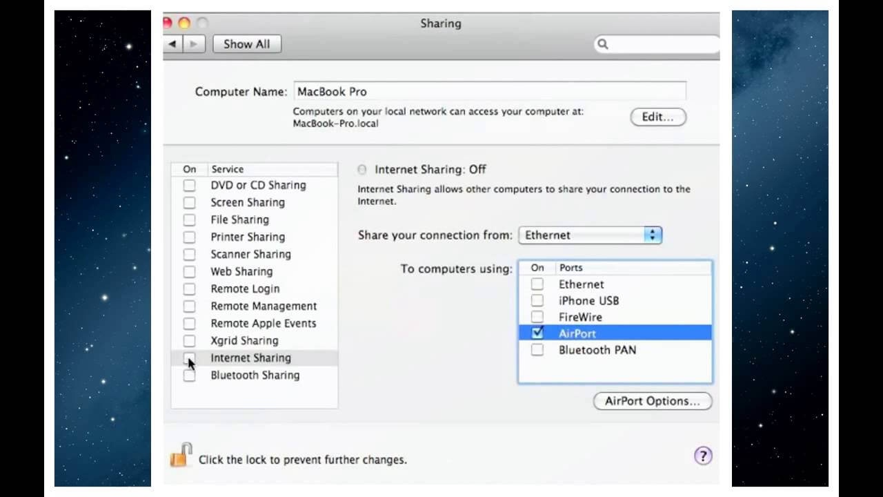 How to Create a Wi-Fi Hotspot in Mac – Raymond M  Marotta